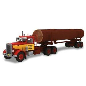 Peterbilt 281 1962 Gilchrist Timber 1:43 Remorque de camion Ixo Altaya diecast