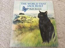 Author Signed! The World That Jack Built (Red Fox picture books) Brown, Ruth