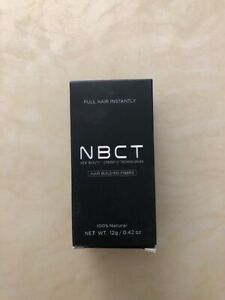 NBCT Hair Building Fibers, 12g / 0.42oz - Dark Brown