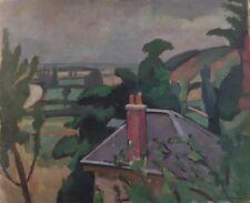 """Picart- Ledoux ."""" Paysage"""" Huile sur toile. v 477"""