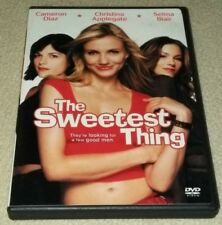 The Sweetest Thing (DVD, 2002, Widescreen