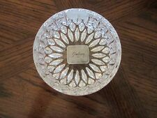"""Gorham Althea Crystal Bowl 4.50"""" diameter made in Germany New w/tags"""