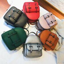 Small Backpack For Women Teenage Girls PU Leather Fashion School Bags Mochilas