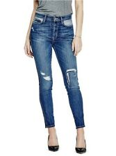 Guess Women's 1981 Mid Rise Skinny Jeans Destroy Details Size 29