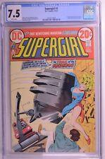 SUPERGIRL # 1 GCG 7.5 W 1st SERIES PREMIERE ZATANNA FEATURE DC 11/1972