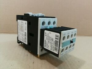 Siemens 3RT1025-1A Contactor 17Amp 220V Coil With L0100308  Aux Contact