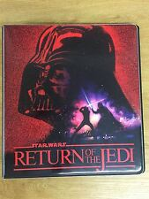 Star Wars Return Of The Jedi Official Topps Binder