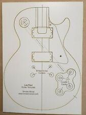 Gibson Les Paul Guitar Template