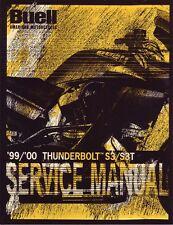 HARLEY Reparaturanleitung BUELL 1999-2000 Thunderbolt S3 S3T 99489-00Y Reparatur