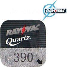 3 Rayovac 390 Quartz Watch Batteries SR1130SW SR54 V390