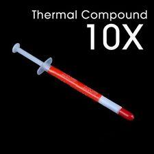 10 X Thermal Grease Heatsink Compound Paste for VGA, AMD & Intel CPU Processor