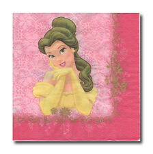 4 Servietten Napkins Tovaglioli Papierservietten Prinzessin (169)