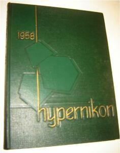 1958 Gordon College (Massachusetts) Hypernikon Yearbook