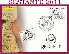 ITALIA MAXIMUM MAXI CARD 2008 CASA RICORDI BICENTENARIO A170