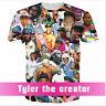 New Fashion Style Women's/Men's tyler the creator 3D Print Casual T-Shirt NK53