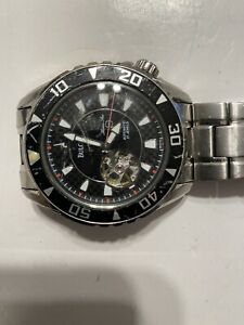 Bulova Mens Watch Automatic 21 Jewels Marine Star 100 M Used. Excellent Con...