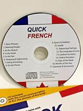 Quick french book with digital audio CD