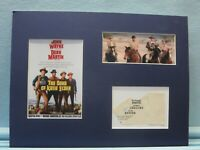 """John Wanye in """"The Sons of Katie Elder"""" and  James Gregory autograph"""