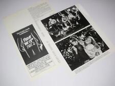 Press Photo / Movie Still & Synopsis ~ Friday the 13th: Part 2 ~ 1981
