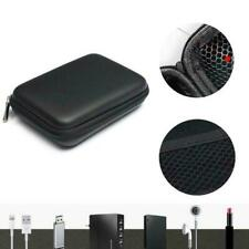 """EVA Shockproof 2.5"""" Hard Drive Carrying Case Pouch External Protective Blac J2I4"""