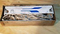 C6 TRAIN CAR BOX CAR KIT ACFX 49208 CENTER FLOW WHITE
