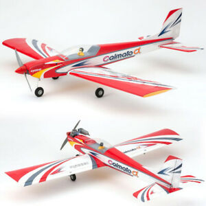 Kyosho 11257R CALMATO Alpha 40 SPORTS Red EP/GP Airplane