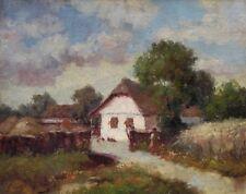 Öl-Gemälde alt antik Romantik Impressionismus Jugendstil Landschaft ~1900