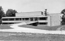 Northfield Minnesota~Carleton College~Library~1950s Real Photo Postcard~RPPC