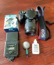 Canon EOS Digital Rebel XTi EOS 400D 10.1MP Digital SLR W/80-200mm Canon LENS