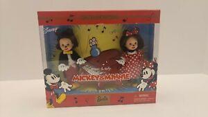 2002 Barbie Disney Tommy & Kelly Dressed as Mickey and Minnie NRFB