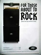 PUBLICITE-ADVERTISING :  Ampli PEAVEY Windsor  06/2007