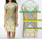 MW008389 - DESIGNER MULTICOLOUR JERSEY SILK DRESS (#410E)
