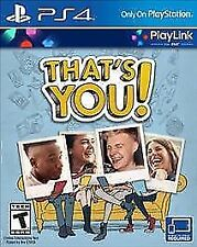 PLAYSTATION 4 THAT'S YOU BRAND NEW VIDEO GAME