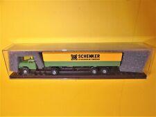 Brekina 85625 Volvo N88 N 88 LKW Müllwagen Müllabfuhr grau neutral 1:87 H0