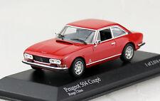 Peugeot 504 Coupe rot 1974 1:43 Minichamps Modellauto 400112121
