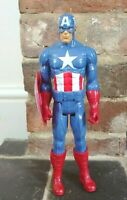 "11"" Captain America Action Figure 2013 Hasbro With Shield"