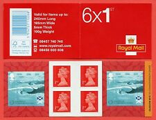 PM43 6 x 1st XX Commonwealth Games Glasgow 2014 Self Adhesive Booklet