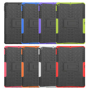 """For iPad 7 6 5 Air Mini Pro 9.7 10.5"""" 11"""" Tablet Shockproof Defender Case Cover"""