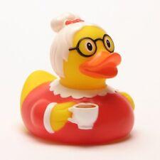 Duckshop - Oma Badeente Quietscheente L 7 5 Cm