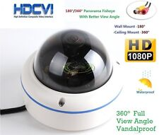 HD-CVI Fisheye Panoramic CCTV Vandal camera 180 Degree Super Wide Angle 1080P