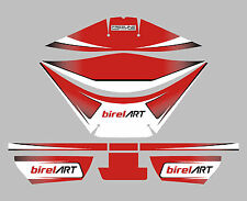 BIREL ART STYLE ROTAX AIRBOX STICKER KIT - KARTING