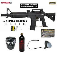 Tippmann US Army Alpha Elite Tactical E-Grip Bronze Paintball Gun Package