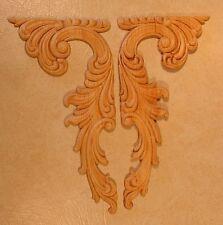 Embossed Wood Applique / Onlay #665 5 3/4 X 11