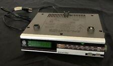 Vintage GE Spacemaker Under Cabinet Kitchen Timer Clock Radio Digital Brown