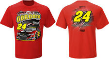 Jeff Gordon 2014 Checkered Flag #24 Drive to End Hunger Flat Out Tee FREE SHIP