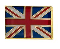 British Flag Square Pin Badge UK Great Britain Gloss Enamel Lapel Badge 18*12mm
