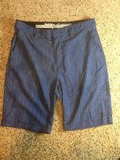 Men's Billabong  shorts RN99064 Blue Casual Size Small Hydrostretch Platinum Ked
