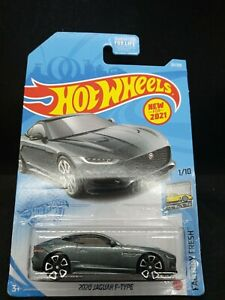 2021 Hot Wheels 2020 Jaguar F-Type Silver