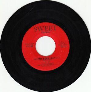70s FUNK 45~GI GI~DADDY LOVE PART 1 / PART 2~SWEET 001~VG+