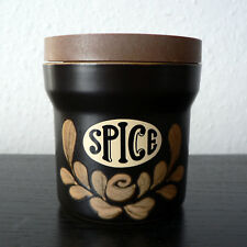 DENBY POTTERY - BAKEWELL - SPICE STORAGE JAR SMALL 'SM' SIZE - VGC REPLACEMENT